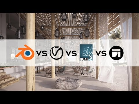 Guess the Best Renderer? Vray vs Lumion vs Twinmotion vs